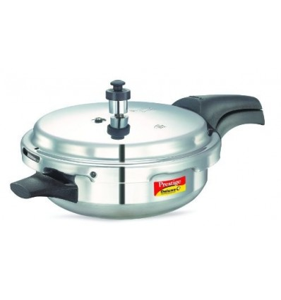 Prestige Deluxe Plus Induction Base Junior Pan Aluminium Pressure Cooker