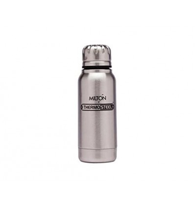 Milton Thermos Steel Tea Coffee Insulated Bottle Slender 160 ml,
