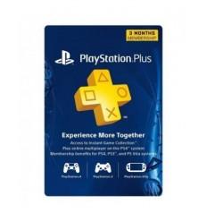 Psn Card India PlayStation Plus 3 Month Membership Card PSN Plus Card PS-Plus (SEA Account)