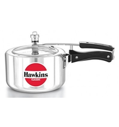 Hawkins Classic Pressure Cooker 3 Litre A30 New Improved Wide Mouth