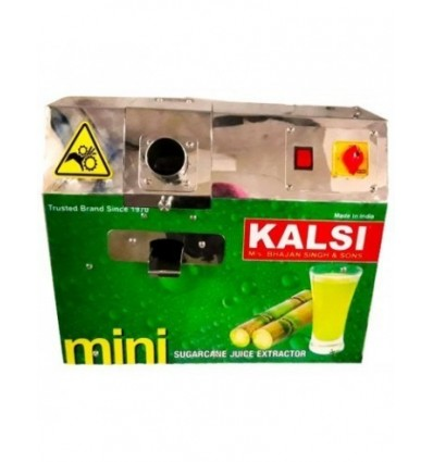 Sugarcane Juice Machine Mini By Kalsi Fully Covered Stainless Steel Body With Motor
