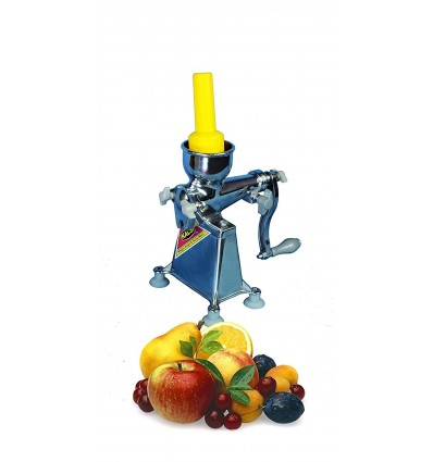 Kalsi hand operated Manual Citrus juicer For Fruits,Aluminium,Best Quality with Plastic plunger