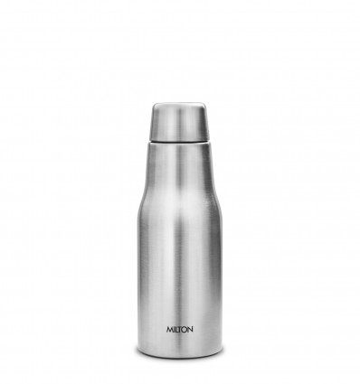Milton Glad Thermosteel Insulated Bottle, 350ml, Silver