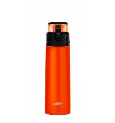 Milton Atlantis 600 Thermosteel Vaccum Insulated Hot & Cold Water Bottle, 500 ml
