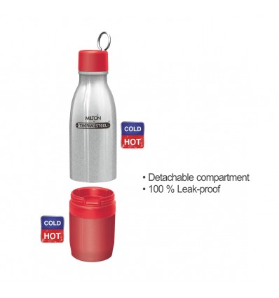 Milton Chai Pani Thermosteel Vaccum Insulated Hot & Cold Water Bottle, 800 ml
