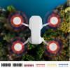 8Pcs Drone Propeller Low Noise Blades Paddles for DJI Mavic Mini - Black + Silver