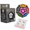 Qiyi Galaxy Megaminx Magic Cube - Black
