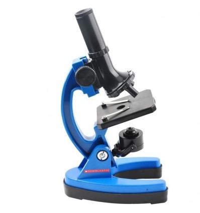 1200 Times Children Metal Microscope Tool Kit Set - Blue
