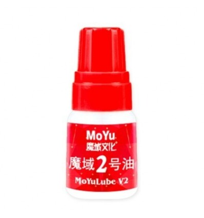 5ML Moyu No.2 Oil for Lubricating Magic Cube Toys - Red Bottle