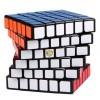 Magnetic Version Qiyi Mofangge 6x6x6 Shadow Magic Cube - Black