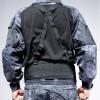 Molle Outdoor Multi-function Adjustable Suspender Type Belt Nylon Belt for CS Battle Game - Black