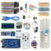 MEGA2560 BreadBoard Advance Kit with Sensors Servo Motor LCD Display Tutorial for Arduino