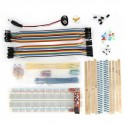 Breadboard Tools Kit with Breadboard Power Modul Jumper Wire Resistor LED Button for Arduino DIY