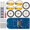 Four-wheel Drive Bluetooth Intelligent Chassis Kit for Arduino UNO R3 Nano Smart Underpan Suite