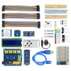 Nano BreadBoard Kit with IO Expansion Board Sensors LCD Display Module Tutorial for Arduino