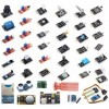 45 In 1 Sensor Module Set Transparent Box Package Board Kit with CD Tutorial for Arduino