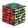 Z-cube Maze Type 3x3x3 Magic Cube Black