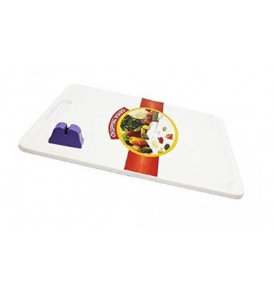 Glare Chopping Board For Vegetable Cutting with Attached Knife Sharpener