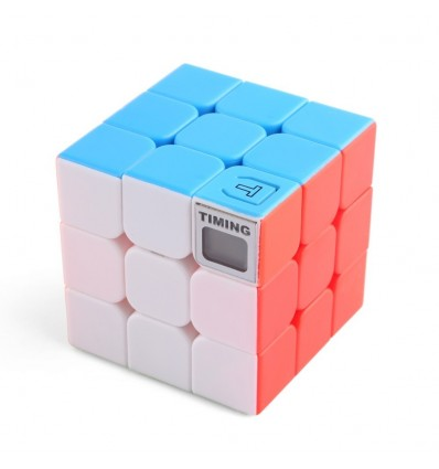 3x3x3 Timing Magic Cube Puzzle Cube Intelligent Toys - Colorful