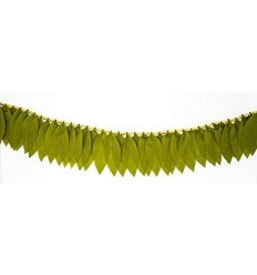 Vexclusive Artificial Mango Leaves for toran and Indian Wedding Decorations/Diwali/Pooja Decorations - 6 feet Long (Pack Of 2)