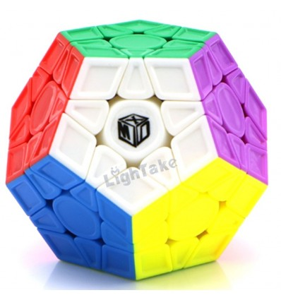 Sculpted Version Qiyi Galaxy V2 Megaminx Magic Cube - Colorful