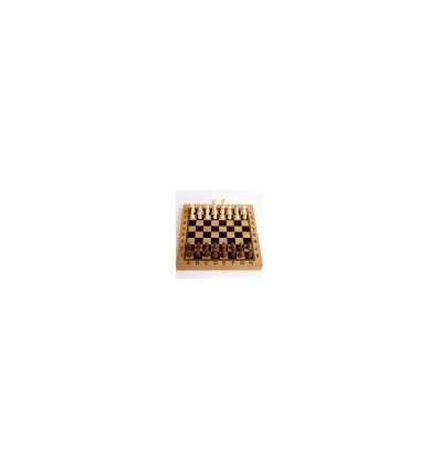 30cm 2 In 1 Wooden Folding Chess Set Solid Wood Chess Backgammon Set Entertainment Chessboard Games