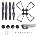 Parts Kits with Blades/Guard Circle/Gear/Motor for SG700/DM107S Foldable Quadcopter Drone