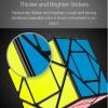 MF8847 Mofang Jiaoshi Pandora Magic Cube Educational Toys for Brain Trainning Black