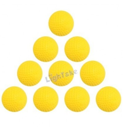 Pack of 10 Round Dart Refills Foam Bullets for Rival Zeus Apollo Nerf Toy Gun Yellow