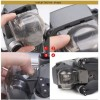 MAVIC PRO Transparent Lens Protective Cover Gimbal Camera Clear Protection Cover Lens Protector Cap for DJI MAVIC PRO --Gray