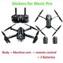 Mavic Pro Drone Full Body Stickers Body Remote Control Battery Protection Skin Waterproof for DJI Mavic Pro
