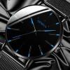 Black Blue 2020 Minimalist Men's Ultra Thin Watches Men Business Stainless Steel Mesh Belt Quartz Watch Relogio Masculino