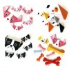 100 Sheets Children Paper Folding Puppy Design Origami Gift for New Year