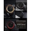 Brown Gold SKMEI Fashion Outdoor Sport Watch Men Multifunction Alarm Clock Chrono 5Bar Waterproof Digital Watch hombre 1251