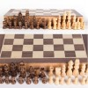 40cm Portable Wooden Chess Folding Magnetic Chess Set Entertainment Chessboard Games