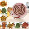 Animal Magnetic Maze Wooden Beads Puzzle Educational Toys for Kids - Monkey Shape S