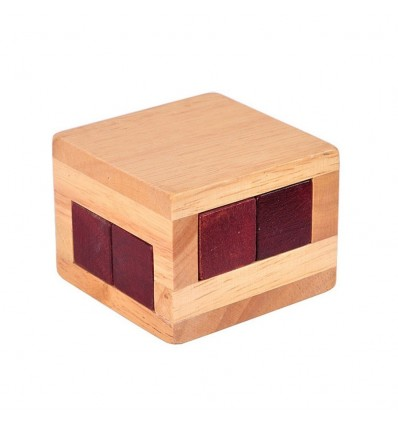 Wooden Luban Lock Magic Box Puzzle Game Educational Toys for Children Adult - L