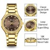 2742 GBR MISSFOX Elegant Woman Watch Luxury Brand Wristwatch Japan Movt 30M Waterproof Gold Expensive Analog Geneva Quartz Watch