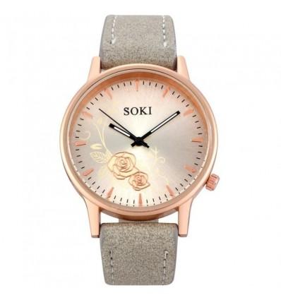 RoseGold Elegant Dial Watches Women Luxury Bracelet Watch Dress Female Leather montre femme Quartz Wristwatches relogio feminino
