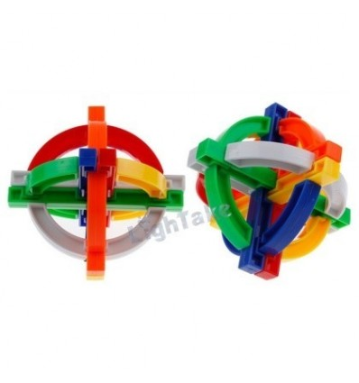 Dian Sheng Chinese Traditional Intelligence Toy Safe ABS Plastic Kong Ming Lock – Yan Qi Xi Gu