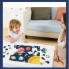 96Pcs Children Puzzle Toy Creative Cartoon Luminous Jigsaw Early Educational Puzzle Toy - Monster Planet