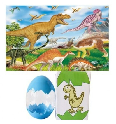 60Pcs Dinosaur Egg Puzzle Easter Eggs Toy Dinosaur Suprise Gift Toy for Kids - Type 11