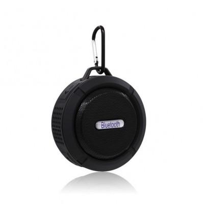 Black Portable Speaker Bluetooth Outdoor Wireless Music Speaker Subwoofer Sports Stereo Sound Mini Speaker Portable Bass