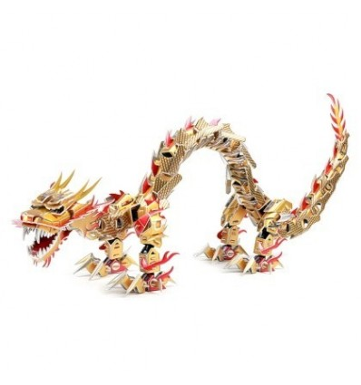 Dinosaur Series Sinosaurus 3D Assembly Puzzle Educational Toy for Children