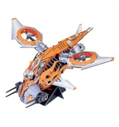 Science Fiction Series Future Chariot 3D Assembly Puzzle Educational Toy for Children