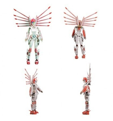Robot Series Women Warrior of the Future 3D Assembly Puzzle Educational Toy for Children
