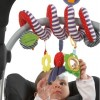 Cute Infant Babyplay Activity Spiral Bed & Stroller Toy Set Hanging Bell Crib Rattle Toy - Ladybird