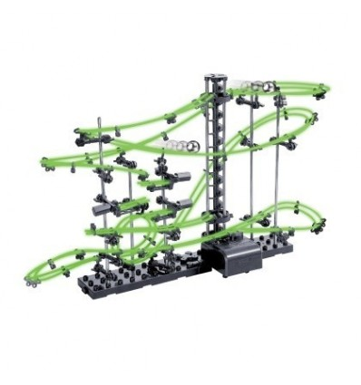 DIY Educational Toys Spacerail Level 3 Glow In The Dark Marble Roller Coaster with Steel Balls 16000mm 231-3