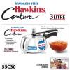 HAWKINS STAINLESS STEEL CONTURA 3 LITRES