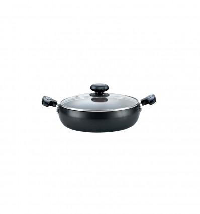 Prestige Hard Anodised Cookware Saute Pan, 240 mm, Black Stku code : 35040